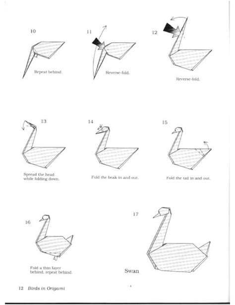 How To Make An Easy Origami Swan - origami swan page 2 origami origami swan