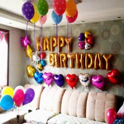 Balloons Decoration For Birthday