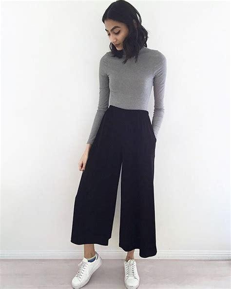 Dress Wanita Semi Navy best 25 wide leg trousers ideas on wide