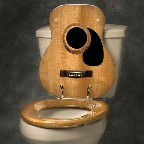 how much is a toilet seat fancy guitar toilet seat cover by jammin johns