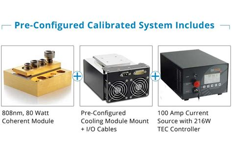 coherent laser diode 808nm 80 watt coherent ccp diode laser system