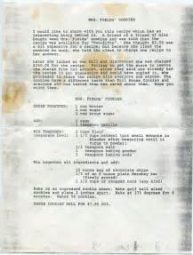 Letter Recipe 17 Best Ideas About Mrs Fields Cookie Recipe On Mrs Fields Cookies Mrs Fields And