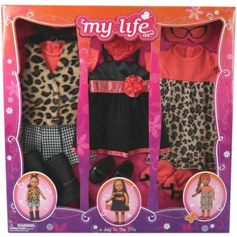 Shop With Your Mastercard At My Wardrobecom To Save Money And Win Swarovski Fashion Rocks Tickets by My As A Day In The Doll Clothing Set Leopard