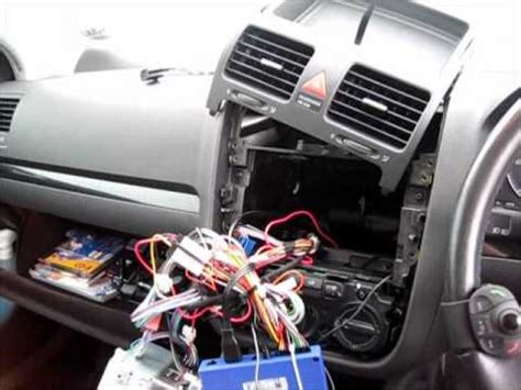parrot mki vw golf mk   installation youtube