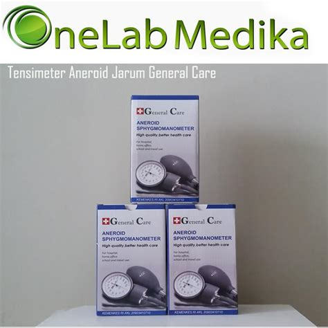 tensimeter aneroid jarum general care onelab medika