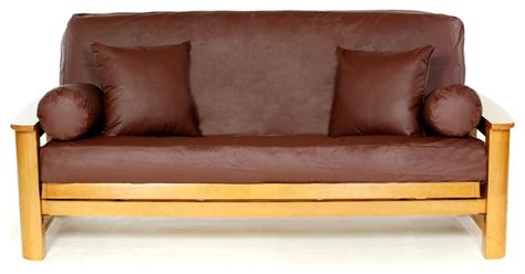 modern futon cover ll full size futon cover maroon contemporary futon