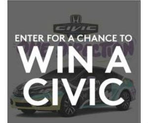 Win A Car Sweepstakes Phone Call - win a honda civic car designed by one direction or a trip for 2 free sweepstakes