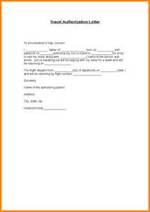 Authorization Letter Collect Passport For Minor authorization letter to receive passport travel authorization letter 1
