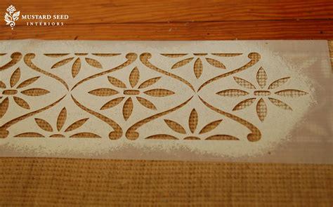 rug stencils stenciled jute rug miss mustard seed
