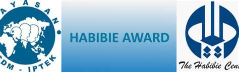 habibie award habibie award sekolah pascasarjana sps itb