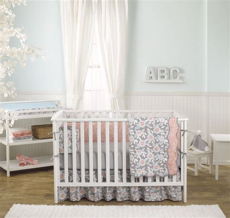 Dahlia Nursery Bedding Set Giveaway Crib Bedding From Balboa Baby Project Nursery