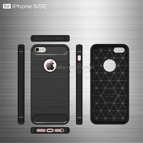 Ss5903 Brushed Combination Protective Iphone 5 5s Se Gold sunsky for iphone se 5s 5 brushed texture fiber tpu rugged armor protective black