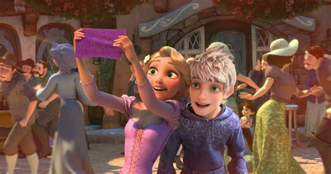 imagenes de jack y rapunzel rapunzel jack frost by angeelous dc on deviantart