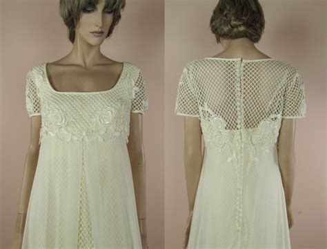 Brautkleider 70er by 70 S Vintage Wedding Dress Ivory Wedding Dress