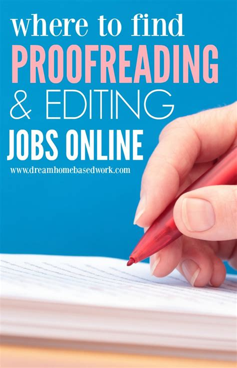 Find Jobs Online To Work From Home - where to find freelance proofreading and editing jobs