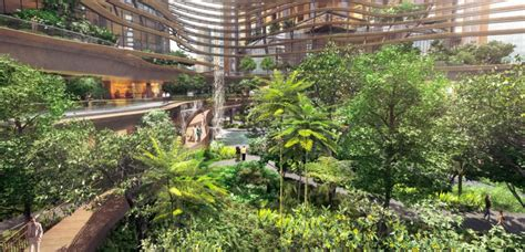 residential atrium design singapore s marina one green infused residential building
