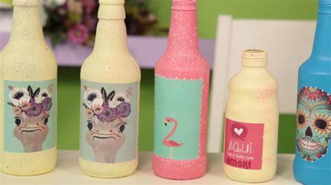 video como decorar garrafas de vidro como decorar garrafas de vidro passo a passo youtube