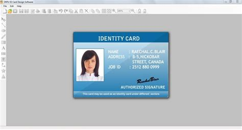 id card design word id card creator main window id card creator barcode id