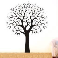 Tree Sticker Wall Decor large tree branch wall decor removable vinyl decal home