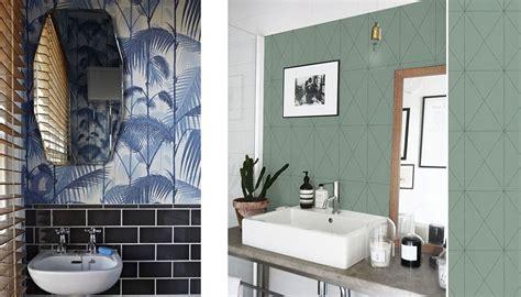 Bien Humidite Mur Salle De Bain #3: Papier-peint-salle-de-bain-1050x600.jpg