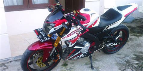 Modifikasi Fighter New Vixion new vixion jadi fighter modifikasi new vixion fighter galeri foto otosia