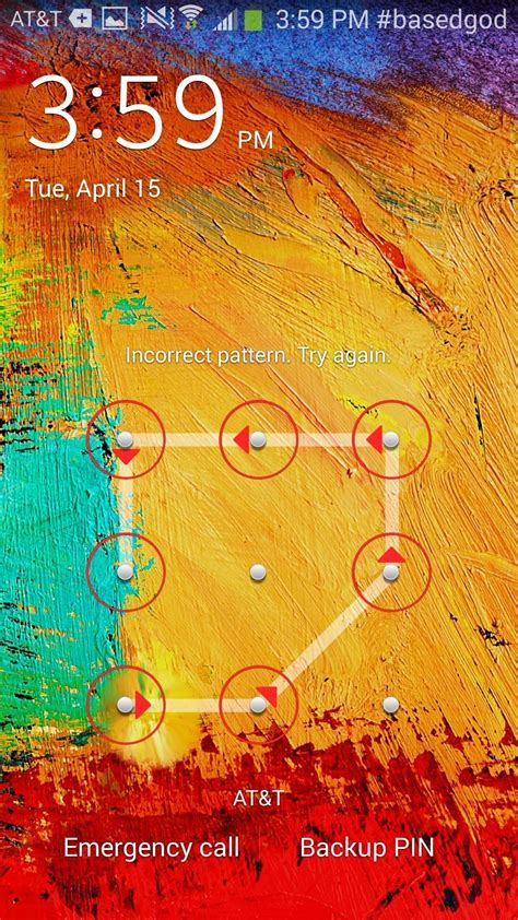 Note 2 Pattern Lock Screen | how to get more lock screen pattern attempts without