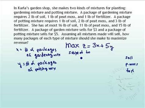 linear programming problem part  youtube