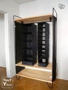 meuble portant rangement vetement ikea s 232 te 34200