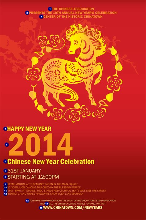 new year 2014 interesting facts new year 2014 poster ticket printing