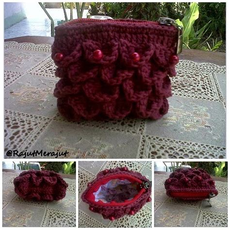 Dompet Koin Mote rajut merajut by norika ayu dewi crochet coin purse with