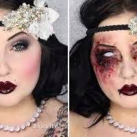 zombie flapper tutorial 1920s makeup deco weddings