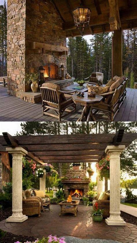 best 25 outdoor fireplace designs ideas on pinterest
