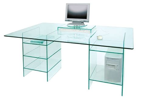switched on set greenapple all glass desk