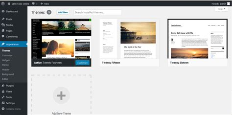 tutorial membuat web toko online dengan php langkah awal membuat semi toko online dengan wordpress