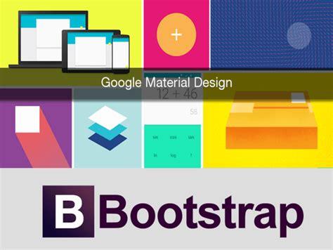 google design lite bootstrap vs google material design lite which one is