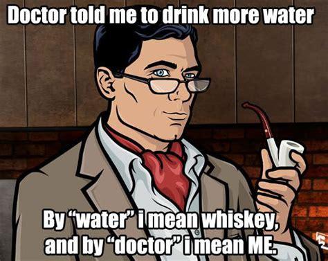 giant martini meme feeling meme ish archer tv galleries paste
