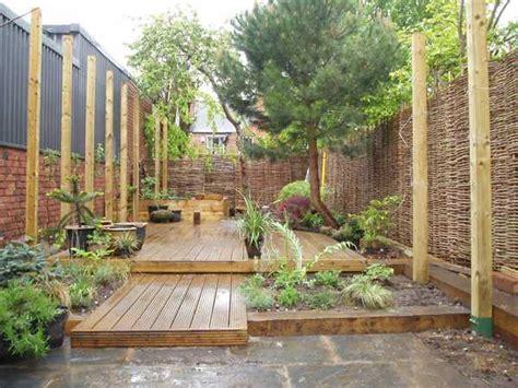 Garden Designs With Railway Sleepers by Railway Sleepers