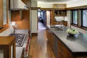 evanston prairie style house renovation modern kitchen