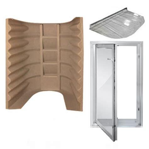 basement egress window kit wellcraft window well kit code compliant for basement exits