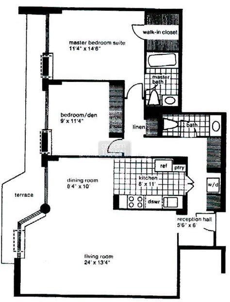 marine one floor plan floorplans 4170 n marine drive the waterford