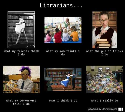 Librarian Meme - librarians what people think i do what i really do meme