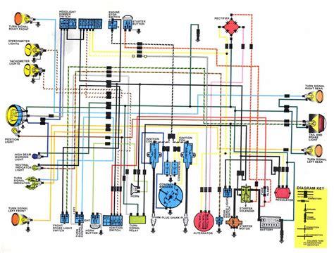 wiring diagram cb250 honda cafe racer