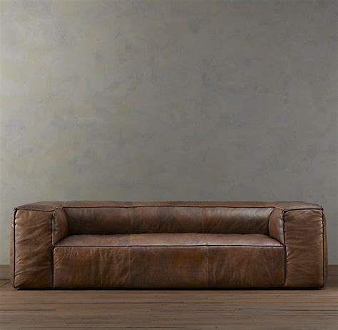 fulham leather sofa for sale 184 best images about restoration hardware look alikes on