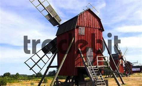 Instant Oland windmill island oland sweden architecture