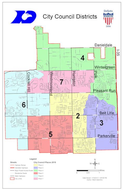 map of desoto texas desoto tx official website find your city councilmember