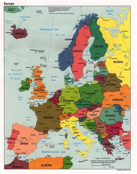 maps  europe map  europe  english political