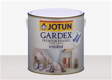 Jotun Gardex Gloss wood metal products jotun seap