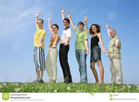 friends swinging friends swing hands royalty free stock photography image