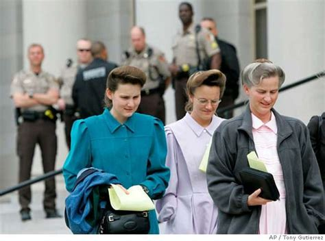 Flees From Courthouse To Church After Losing Visitation Rights Indefinitely 2 by Polygamous Sect S Pr Baptism By Sfgate