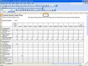 12 month flow template 12 month calendar template excel calendar template 2016